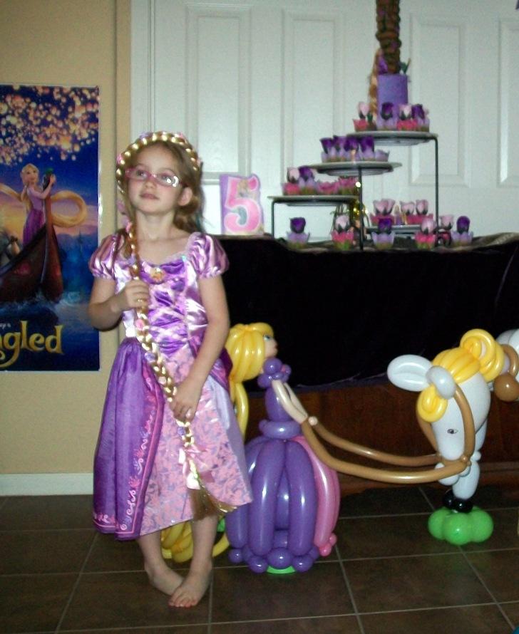 rapunzel and B-day girl by Twisty Kristy